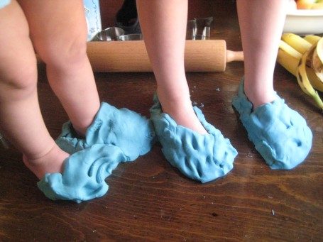 Play-doh Shoes